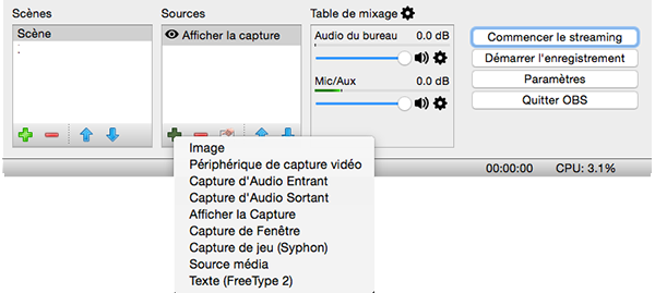 iClan, le clan Mac - Open Broadcaster Software, OBS le tuto